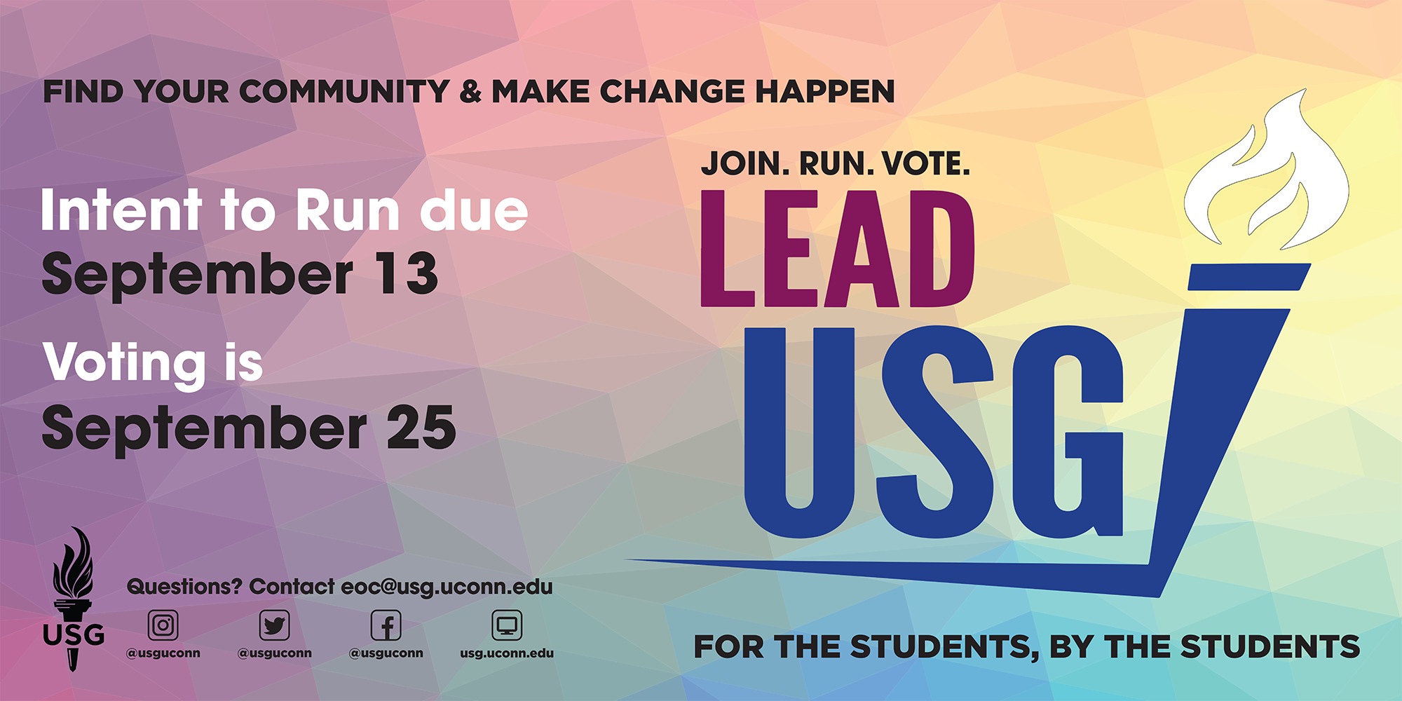 USG 2019 Elections Graphic